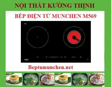 Những điểm thu hút khách trên bếp điện từ Munchen M569