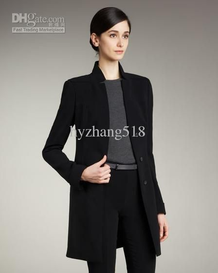 Ladies Suits with Long Jackets - Suit Jacket - Buy WOMEN'S Three ...
