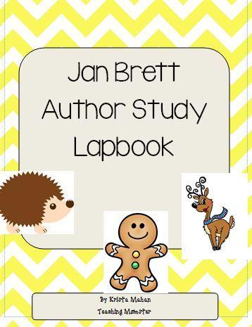Winter author study of Jan Brett - imaginationsoup.net
