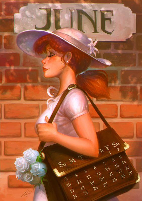 ✯..June Calendar :: Artist Jimmy Xu..✯