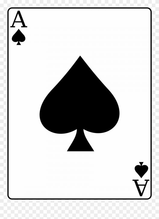 15 Ace Of Spades Card Png Ace Card Ace Of Spades Queen Of Hearts Card