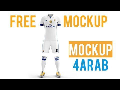 Download Tutorial Football Kit Mockup Free Youtube Free Youtube Free Mockup Youtube