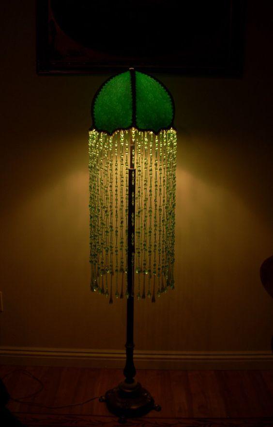 Custom Made Lamp Shade: Beautiful custom made lamp shade and lamp base with by dianet4989,Lighting