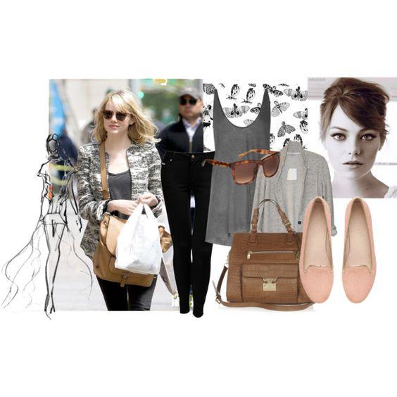 Emma Stone by melinda-harbaugh on Polyvore
