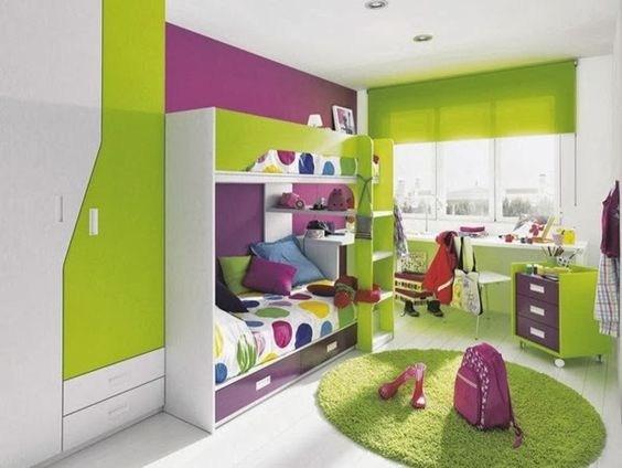 10 habitaciones con decoraci n verde e ideas divertidas for Decoracion de cuartos para bebes