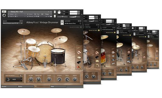 Komplete Drums Abbey Road Drummer Collection Products Drummer Modern Drummer Abbey Road