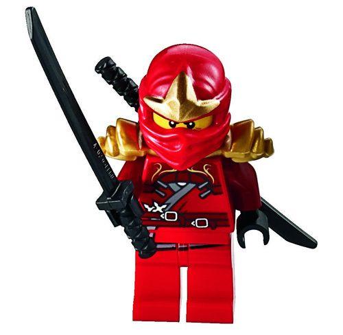 New lego ninjago kai zx minifig figure minifigure red - Ninjago lego kai ...