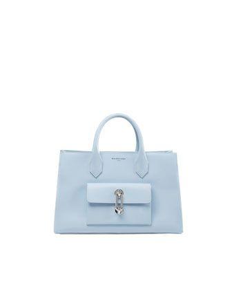 AJ XS Tote Bag, Blue by Balenciaga at Neiman Marcus. $2,295.00