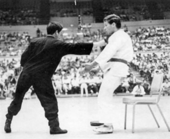 """Lee mastered a technique called """"the one-inch punch,"""" where he could deliver a devastating blow with his fist traveling only an inch before striking his opponent."""