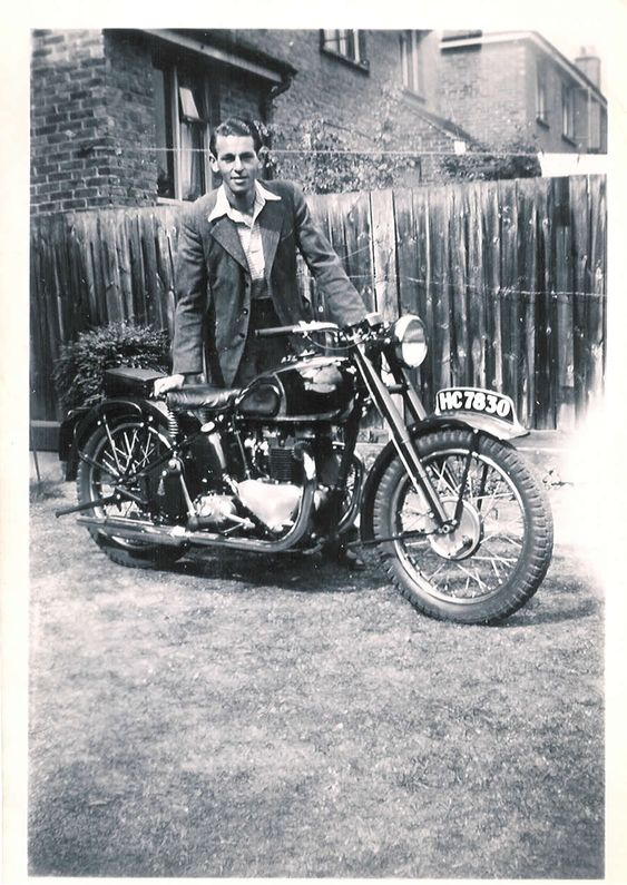 Brough Superior SS100, Brough Superior, 1953 European Trip, Triumph Thunderbird, Triumph Motorcycles