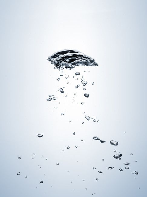 Air Bubbles Rising In Water Water Illustration Water Hydration Bubbles