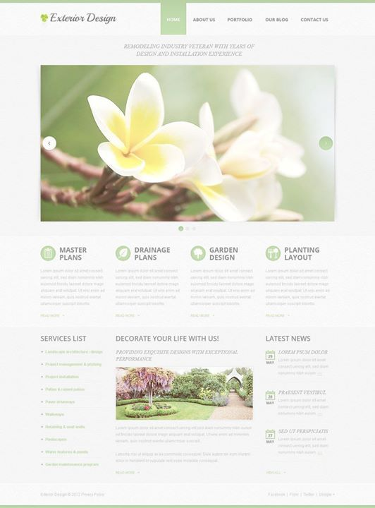 So cute. did you like it?   Exterior Design PSD Template CLICK HERE! live demo  http://cattemplate.com/template/?go=2cgv8Hv