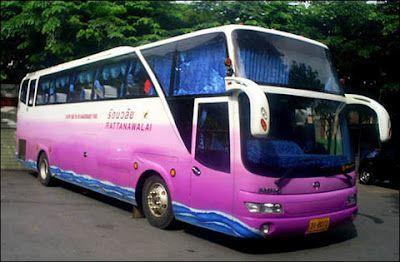 Ganz egal ob nach Chiang Mai in den Norden oder ganz nach Hat Yai in den Süden. Der Bus ist das preiswerteste Verkehrsmittel. Es gibt Busse mit und ohne Aircondition, manche sogar ohne Fenster. Mehr zu Busreisen in Thailand unter: http://www.thailand-bereisen.com/2012/05/mit-dem-bus.html