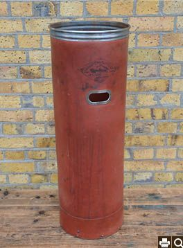round mill bin