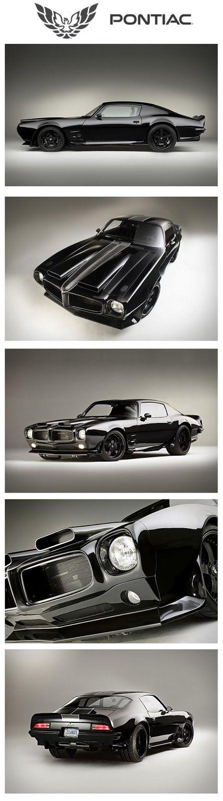 Diario Motocicleta: '70 #Pontiac Firebird - uno de los coches mas impresionantes que he visto