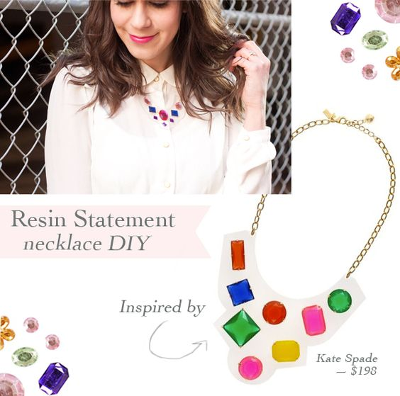 DIY bib necklace
