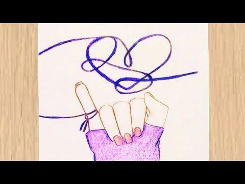 How To Draw A Korean Promise Movement رسم سهل رسم حركة الوعد الكورية رسم يد وقلب Youtube Drawings