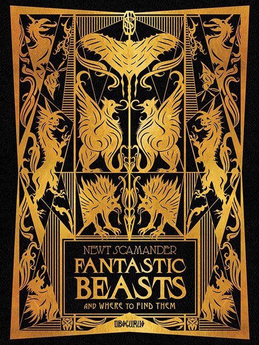 Newt S Book Fantastic Beasts Poster Fantastic Beasts Book Fantastic Beasts
