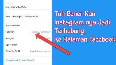 Cara Menghubungkan Instagram Ke Facebook Facebook Aplikasi Android