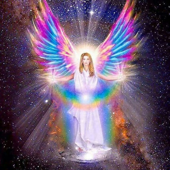 Rainbow Angel. Colourfull & Magical. ❤: