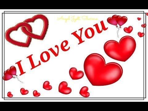 I Love You Romantic Love You Whatsapp Status Video Message Youtube Romantic Love Love Yourself Song Wishes For Husband