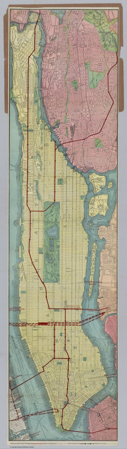 Borough of Manhattan - David Rumsey Historical Map Collection