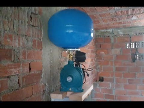 تركيب أجزاء مضخة الماء مع البالونة Monter Les Pieces De Pompe D Eau Avec De Ballon Youtube Youtube