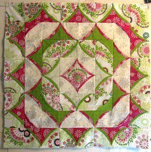 3D Flying Geese Quilt Pattern