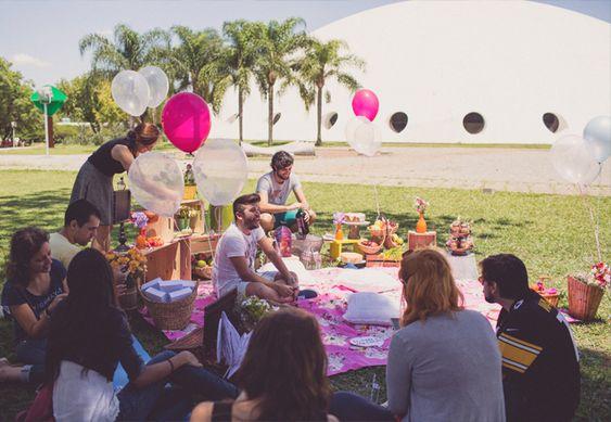 Piquenique no Parque | Inspiração para o Chá de Cozinha | Noiva Ansiosa