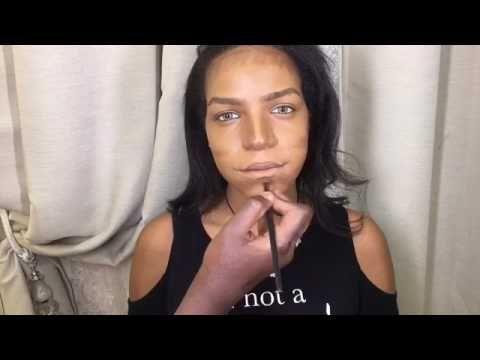ميك اب تتوريال مع زهره الصالح للعيون المبطنه الجزء الاول Youtube Makeup