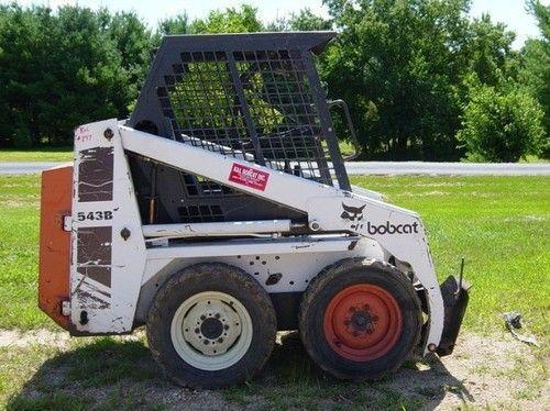 Repair Workshop Awesome Bobcat 540 543 543b Skid Steer Loader Service Repair Workshop Manual Bobcat Service Provides Contr Skid Steer Loader Bobcat Repair