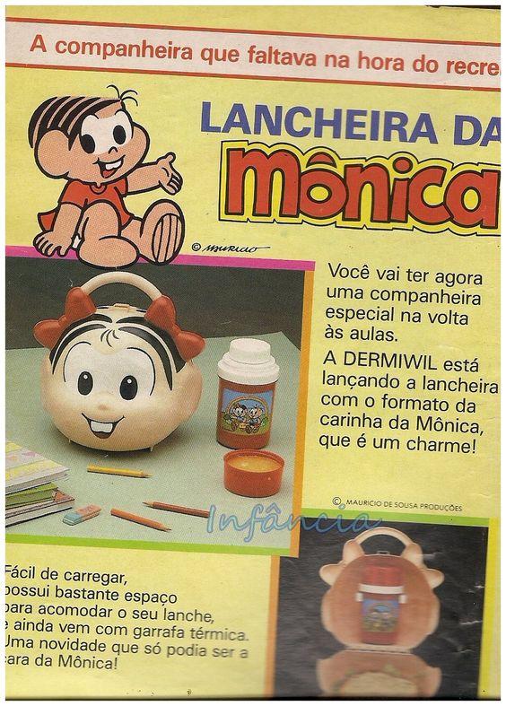 Lancheira da Mônica #nostalgia