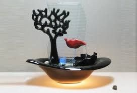 Resultado de imagem para fontes de agua pequenas com luzes