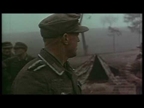 WW2  Deutsche Wehrmacht (Full color film) - ♫ Wohlan, die Zeit ist gekommen ♫