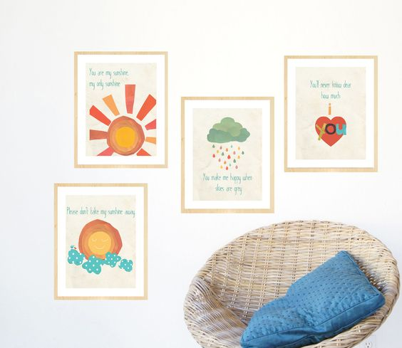 You Are My Sunshine Wall Art Collection