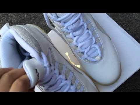 Jordan 10 OVO white
