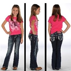 Rock N Roll Cowgirl Embroidery Boot Cut Jeans G5-7453 | Rayne's