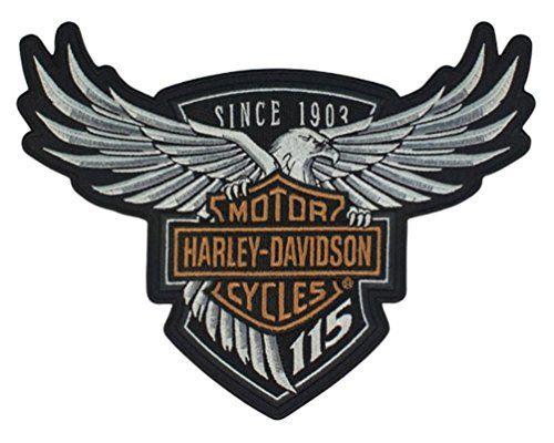NEW HARLEY-DAVIDSON 115TH ANNIVERSARY PIN EAGLE WINGS WITH BAR /& Shield