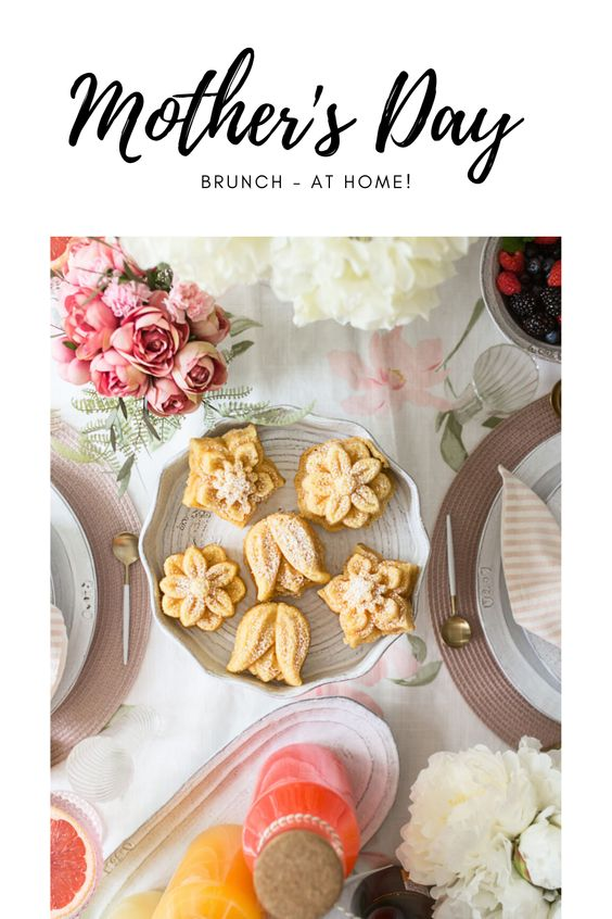 Mother's Day - Brunch at Home