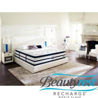 Beautyrest Recharge World Class Sea Glen Luxury Firm Super Pillow Top King-size Mattress Set | Overstock.com Shopping - The Best Deals on Mattresses