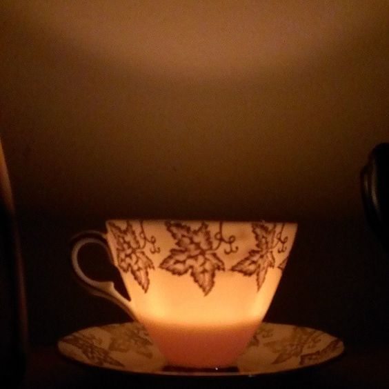 Love this little teacup candle :D #teembers