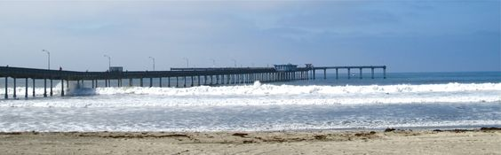 Ocean Beach Pier, Opened in 1966. My dad was a San Diego Civil Engineer, in charge of building the pier.