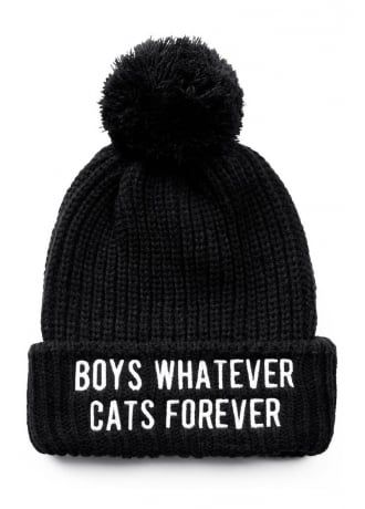 Killstar Boys/Cats Pom Pom Beanie, £17.99: