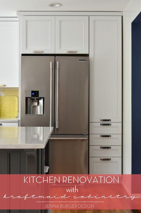 Kitchen Renovation Cabinet Installation Using Kraftmaid