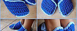 Pantuflas de crochet o punto: ¡Aprende paso a paso!
