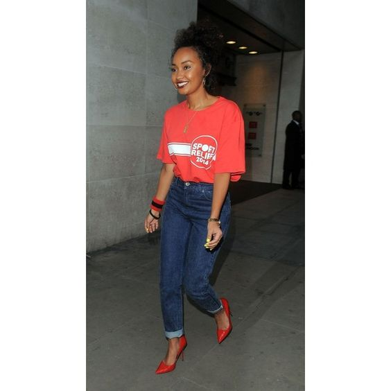 Leigh-Anne Pinnock ❤ liked on Polyvore featuring little mix