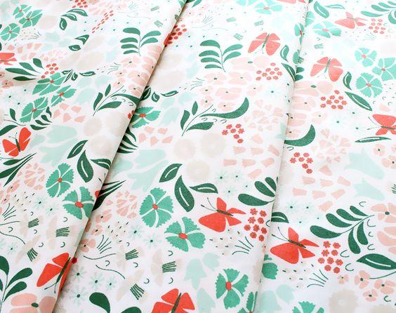 Cloud9 Fabrics Park Life 147005 Hyde Park Pink