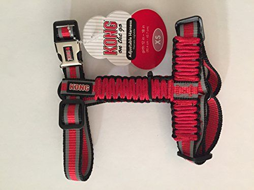 Kong On The Go Reflective Adjustable Paracord Harness Visit