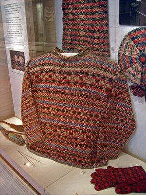 National Museum of Scotland | Fair Isle Knitting | Pinterest ...