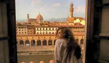 A room with a view. The movie: